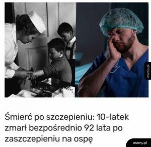 Śmierć po szczepieniu