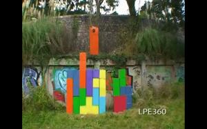 Tetris cosplay