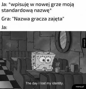 Tożsamość gracza
