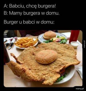 Babciny burger
