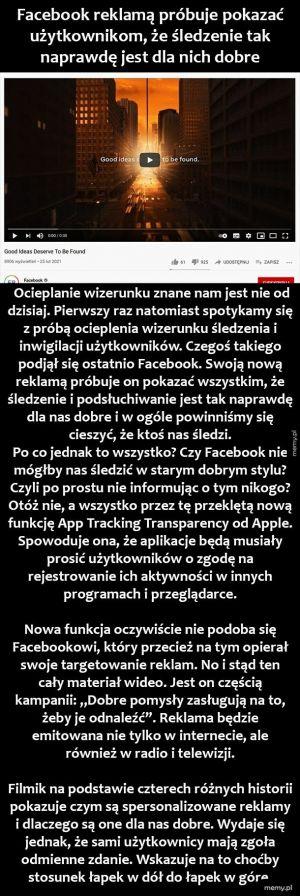 Facebook i śledzenie