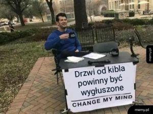 Nie zmienisz mojego zdania