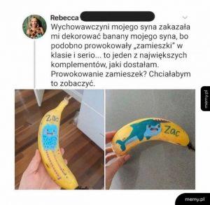 Banany i zamieszki