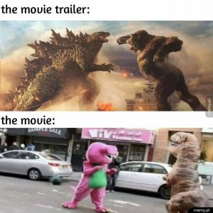 Zwiastun vs film