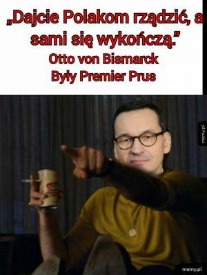 Chyba ten premier miał rację...