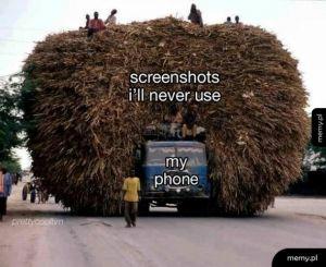 Dobrze, że mam dużo pamięci w telefonie