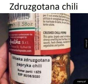 Zdruzgotana chili