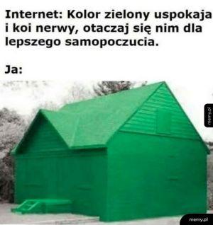 Zielony
