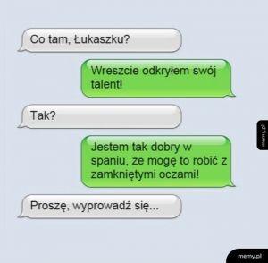 Łukaszek i jego talent