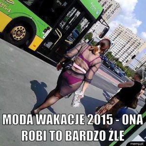 Moda wakacje 2015.
