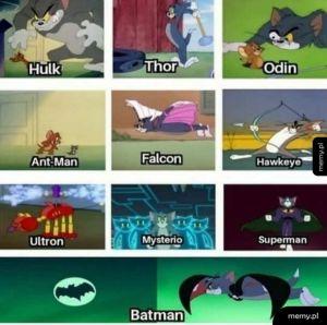 Tom jest ultimate superbohaterem