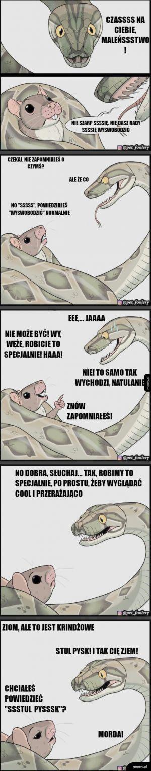 Groźne węże