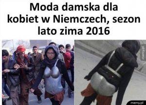 Moda damska Niemcy 2016
