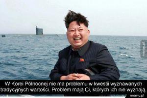 Kim Dzong Un tłumaczy
