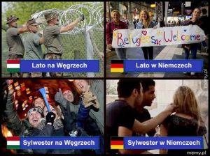 Węgry kontra Niemcy