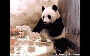 Ten  moment kiedy dostajesz rachunek za jedzenie