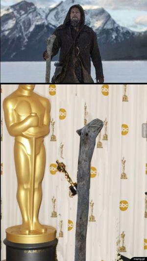 Oscara zdobywa...