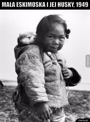 Eskimoska i Husky
