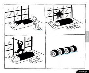 Jak powstaje sushi