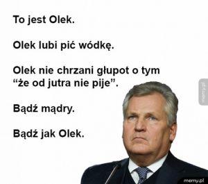 Bądź jak Olek