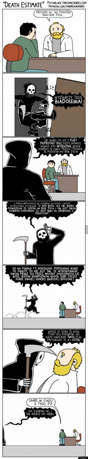 Biedna śmierć