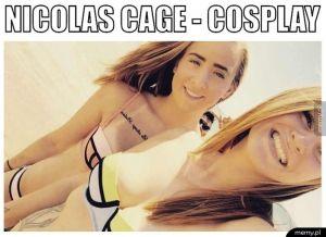 Nicolas Cage - cosplay