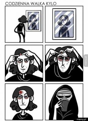 Dlaczego Kylo nosi maskę