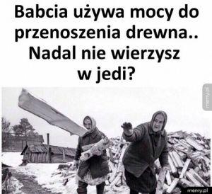 Babcia Jedi