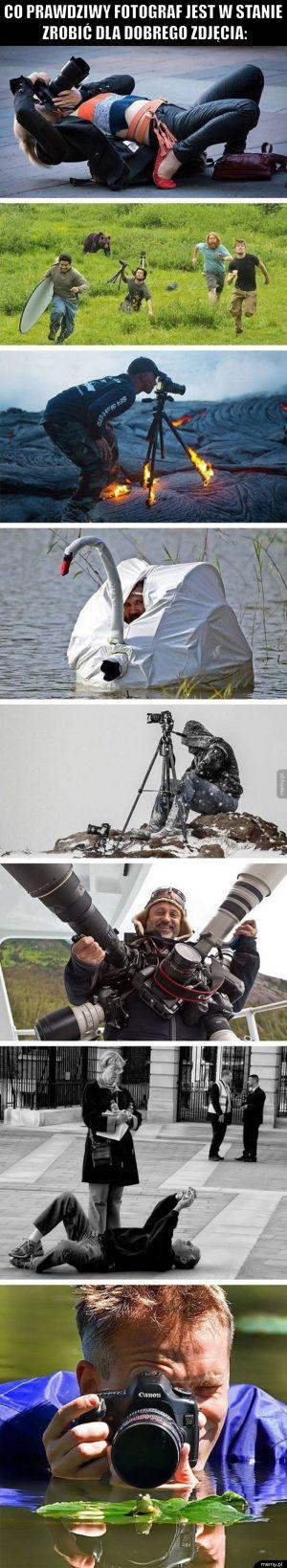 Prawdziwy fotograf