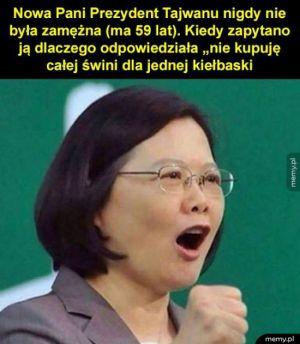 Prezydent Tajwanu