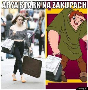 Arya Stark na zakupach