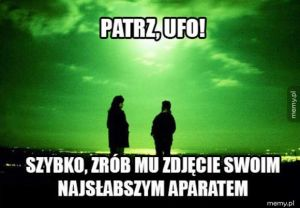 Zdjęcia ufo takie są