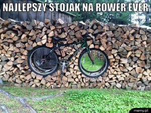 Stojak na rower.