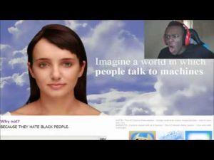 Interesująca wymiana poglądów pomiędzy człowiekiem i sztuczną inteligencją.