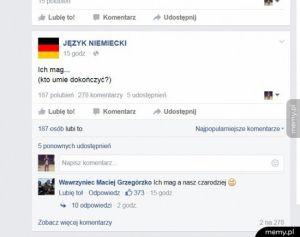 Czarujący niemiecki