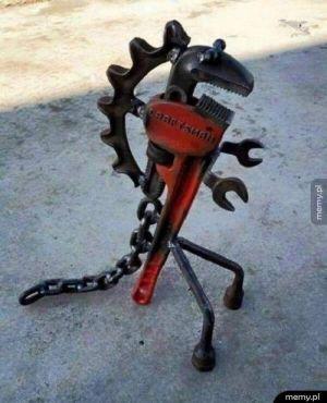 Maskotka mechaników
