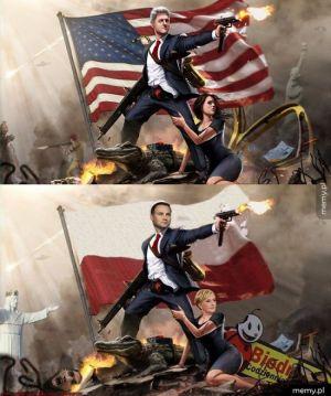 Wersja amerykańska i wersja polska