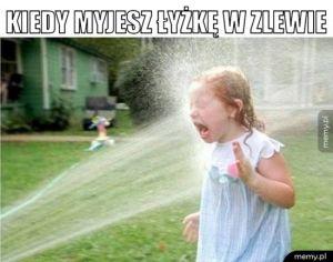 Mycie łyżki takie jest