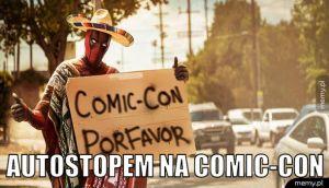 Autostopem na Comic-Con.