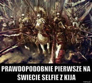 Selfie z kija.