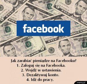 Jak zarabiać na facebooku
