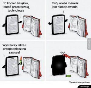 Książka vs ebook