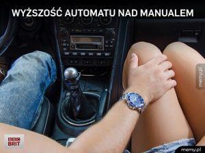 Wyższość automatu na manualem
