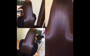 Jedwabiście gładkie włosy