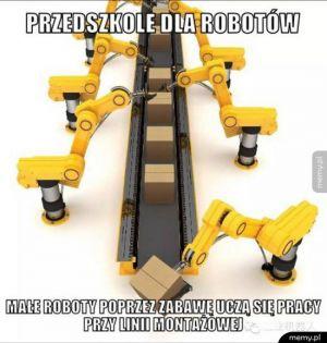 Przedszkole dla robotów