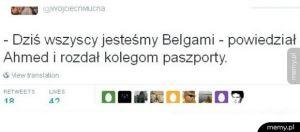 Wszyscy jesteśmy belgami
