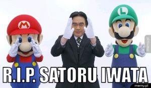 R.I.P. Satoru Iwata