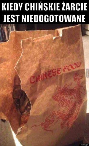Chińskie żarcie