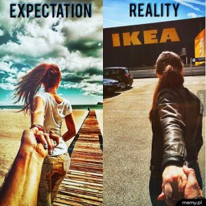 Oczekiwania vs rzeczywistość