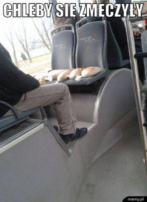 Chleby się zmęczyły.